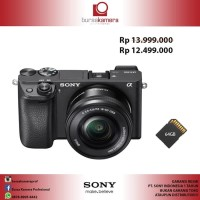 Harga harga promo sony alpha a6300 mirrorless digital camera with 16 | Pembandingharga.com