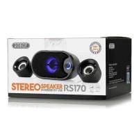 Harga portable bluetooth speaker robot rs170 for pc laptop | Pembandingharga.com