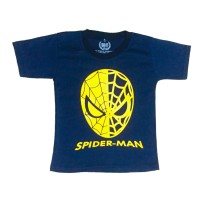 Kaos Anak Superhero Spiderman Foil