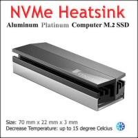 Heatsink M.2 SSD NVMe Cooler Solid JONSBO (Platinum)