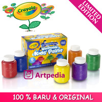 Crayola Washable Kids Paint - Classic Colors 6 ct / Painting Supplies