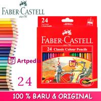 Pensil Warna 24 Faber Castell Classic