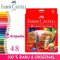 Pensil Warna Faber-Castell Classic Isi 48