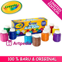 Crayola Washable Kids Paint - Classic Colors 10 ct /Painting Supplies