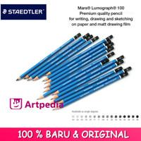 Staedtler Mars Lumograph Graphite Pencil - Mars Lumograph 100