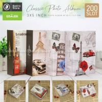 Album Foto Size 3R CLASSIC Motif (3x5 Inch) 200 Slot Photo Album