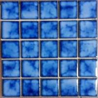 Keramik Mosaic Kuda Laut Mas Untuk Kolam Renang