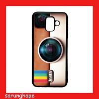 Custom Soft Case Casing Samsung Galaxy A6 2018 Motif Instagram