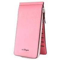 Dompet Kartu Model Panjang - WARNA PINK