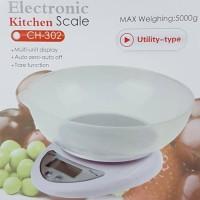 timbangan duduk mangkok 5 kg digital CH-302 untuk dapur,kue lebaran