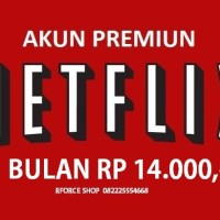 Netflix Premium Akun 1 Bulan UHD 4 Screen - Legal & Bergaransi