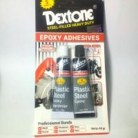 Harga lem besi hitam putih dextone 5 | antitipu.com