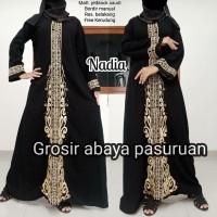 abaya bordir Nadia