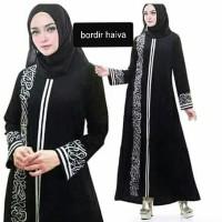 Abaya bordir komputer Haiva