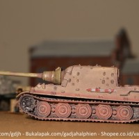 WTM 1/144 - Jagdtiger - World Tank Museum - Takara Kaiyodo Dragons