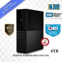 "WD My Book 4TB Black Hitam - HD HDD Hardisk Eksternal External 3.5"""