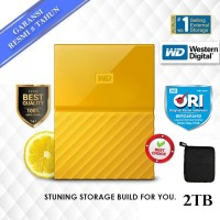 "WD My Passport 2TB - HD HDD Hardisk Eksternal External 2.5"" USB 3.0"