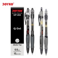 Gel Pen / Pulpen / Pena Joyko GP-265 / Q Gel / 0.5 mm / 1 BOX 12 PCS