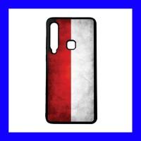 Samsung Galaxy A9 2018 - Custom Soft Case Motif Bendera Indonesia 10