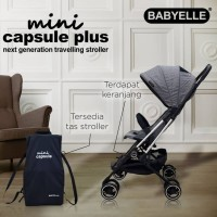 Stroller Babyelle Mini Capsule PLUS S311