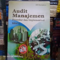 Buku - AUDIT MANAJEMEN - Edisi 2 - IBK bhayangkara