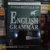 Buku - FUNDAMENTALS OF ENGLISH GRAMMAR - Third Edition - Betty