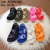 Sandal sepatu karet anak - Red apple BG2566 kids