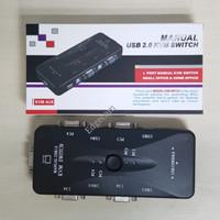 KVM Switch 4 Port USB 2.0