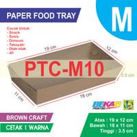 PTC-M10 KRAFT Paper Tray Ukuran M + Cetak 1 Warna