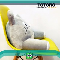 bantal punggung boneka totoro bantal sandaran kursi kantor mobil