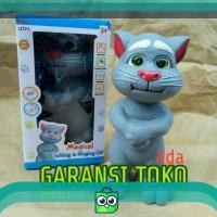 Talking & Singing Cat Bahasa Indonesia Boneka Kucing Tom Bicara