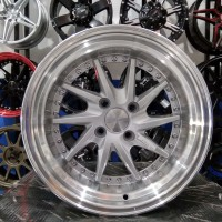Velg Mobil HSR Tipe TIAKUR Ring 15 Etios Valco Datsun Freed Brio Aveo