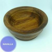Mangkok kayu ukuran kecil with clear finishing