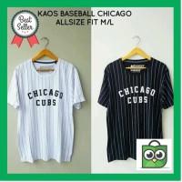 TERJAMIN Kaos Baseball CHICAGO CUBS