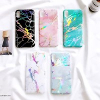 Case Silicon Marble Hologram Samsung Galaxy Note 9 J5 J7 Pro Note 8 S7