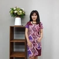 Dress Batik Katun Cirebon Brand Batik Muda - BAAD1211