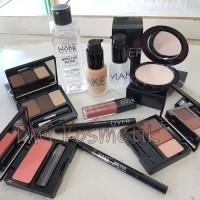 Alat Makeup Kosmetik Wajah Lengkap Murah - Make Over Paket Make Up 3