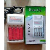 Charger Baterai Battery Batre AA A2 AAA A3 Rechargeable Ran Da Fast