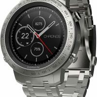 Garmin Fenix Chronos Brushed Stainless Steel Band Smartwatch