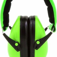 BEBE Muff Hearing Protection USA Certified Protective Ear Muffs Lime