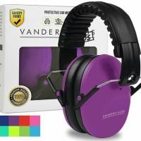 Vanderfields Earmuffs for Kids Hearing Protection Muffs Purple