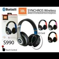 JBL Synchros S990 S 990 Wireless Headphone Bluetooth FM Radio Harman