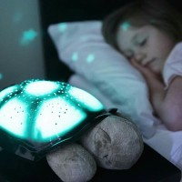 Cloud B Twilight Turtle Plush Night light Projector Lampu Tidur Anak