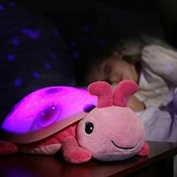 Cloud B Twilight Lady Bug Plush Night light Projector Lampu Tidur Anak