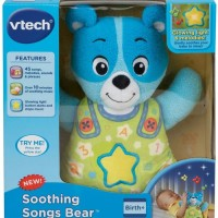VTech Soothing Songs Bear Blue Baby Sleep Soother