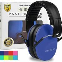 Vanderfields Earmuffs for Kids Hearing Protection Muffs Dark Blue