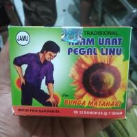 Harga jamu tradisional asam urat pegal linu cap bunga | Pembandingharga.com