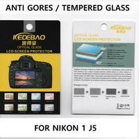 Tempered Glass Nikon 1 J5 Screen Protector Anti Gores nikon J 5