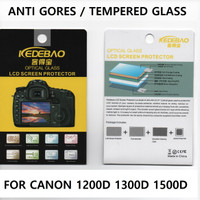 Tempered Glass Canon 1200D 1300D 1500d anti gores screen protector