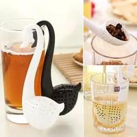 Saringan Sendok Penyeduh Penyaring Teh Tea Strainer Infuser Angsa Swan